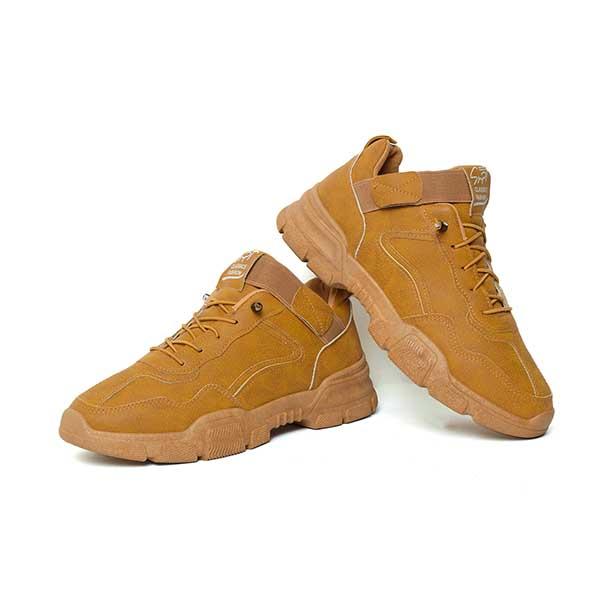 حذاء رجالي جلد صناعي جملي