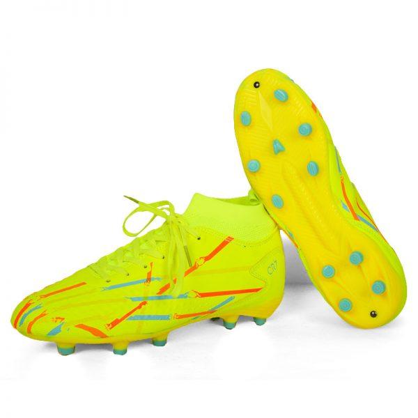 حذاء كرة رجالي استارز - اخضر فسفوري