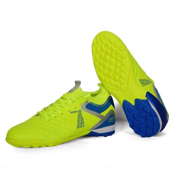 حذاء كرة رجالي ترتان - اخضر فسفوري