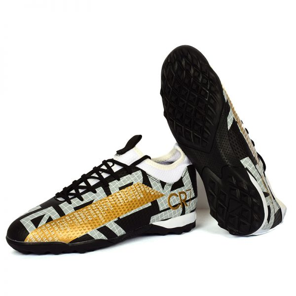 حذاء كرة رجالي ترتان - اسود*ذهبي