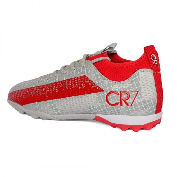 حذاء كرة رجالي ترتان - رصاصي*احمر