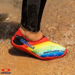 حذاء بحر حريمي - سنتيتك - احمر*اصفر