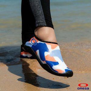 حذاء بحر حريمي - سنتيتك - ازرق*اورنج