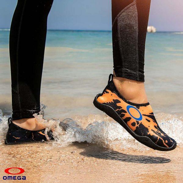 حذاء بحر حريمي - سنتيتك - اسود