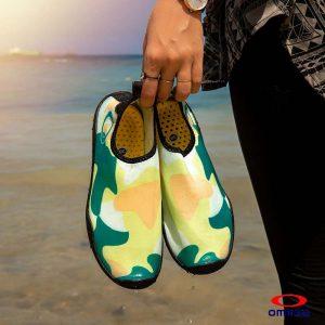 حذاء بحر حريمي - سنتيتك - اصفراخضر