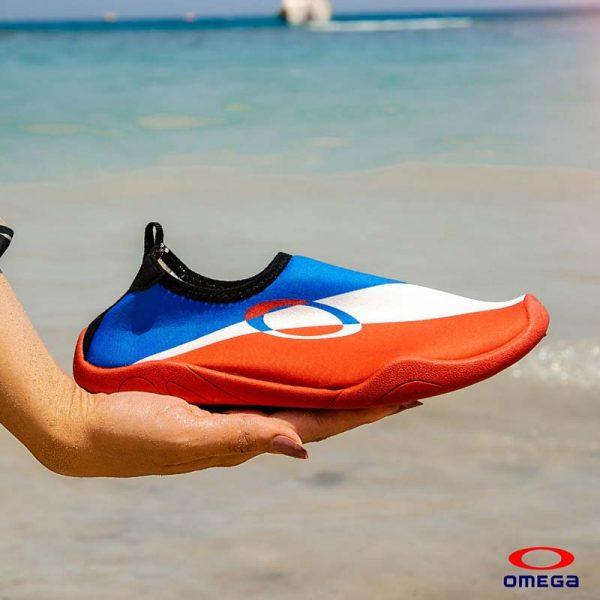 حذاء بحر حريمي - سنتيتك - اورنج*ابيض