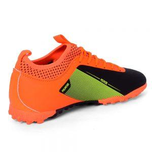 حذاء كرة رجالي - ترتان - جلد - اورنج