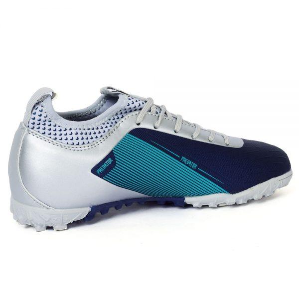 حذاء كرة رجالي - ترتان - جلد - كحليسيلفر